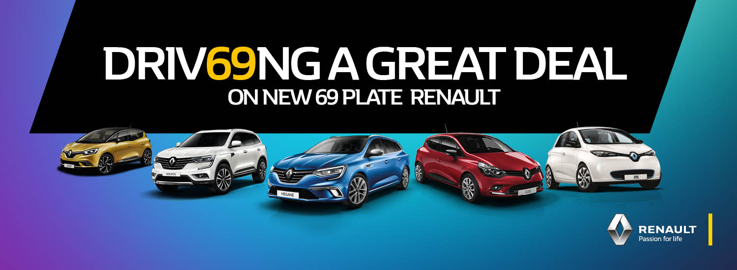 69 Plate Renault