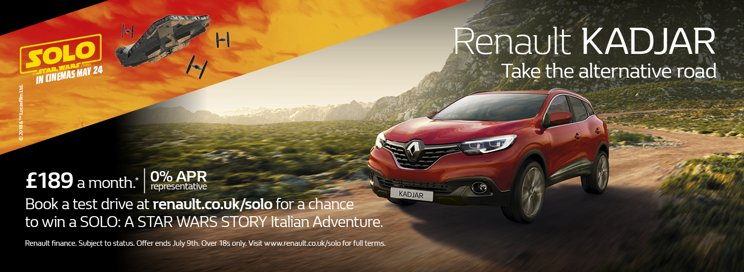 Renault SOLO offer