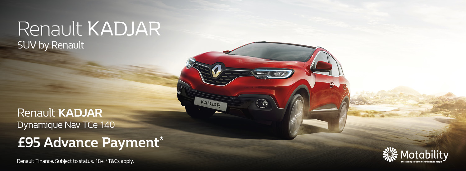 Kadjar Motability Offer