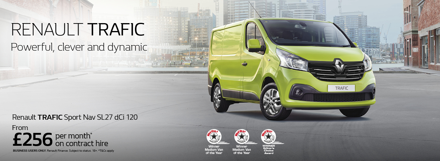 Renault Trafic Business Offer
