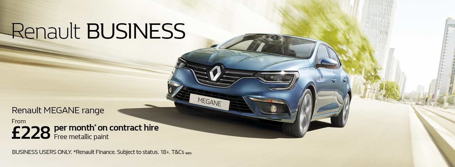 Renault Megane Business Offer